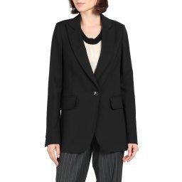 Пиджак S32BN0153 черный MM6 MAISON MARGIELA