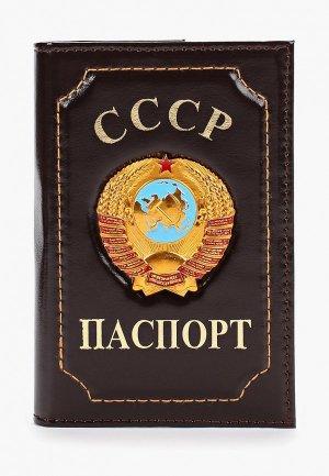 Обложка для паспорта Forte St.Petersburg. Цвет: коричневый