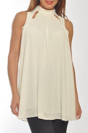 Блуза Collezione di Ines. Цвет: бежевый