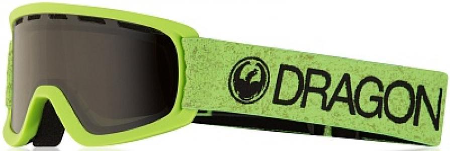 Маска детская Lild Green Dragon. Цвет: зеленый