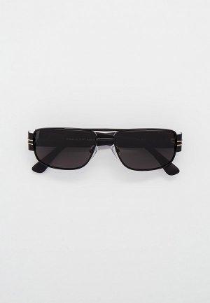 Очки солнцезащитные Thom Richard с поляризационными линзами. Цвет: черный