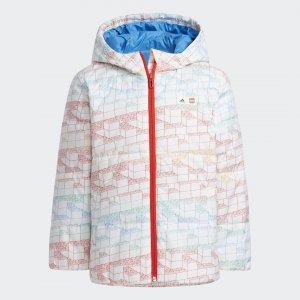 Куртка x Classic LEGO® adidas. Цвет: белый