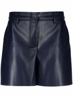 Santorea leather shorts Blanca Vita. Цвет: синий