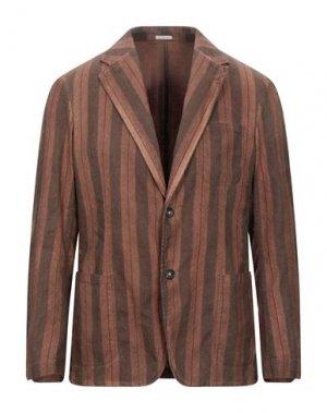 Пиджак MASSIMO ALBA. Цвет: коричневый