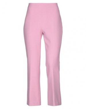 Повседневные брюки COMPAGNIA ITALIANA. Цвет: розовый
