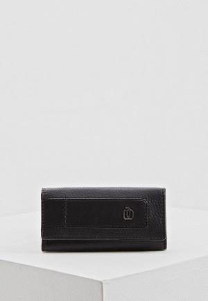Ключница Piquadro S98_BAE. Цвет: черный