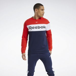 Свитшот Training Essentials Fleece Crew Reebok