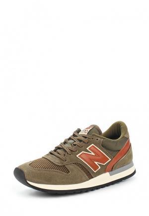Кроссовки New Balance NE007AMAGGC9. Цвет: зеленый