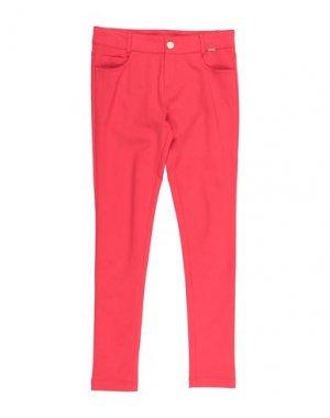 Повседневные брюки JUNIOR GAULTIER. Цвет: красный