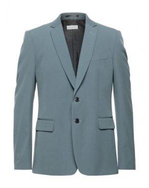Пиджак DRIES VAN NOTEN. Цвет: серый