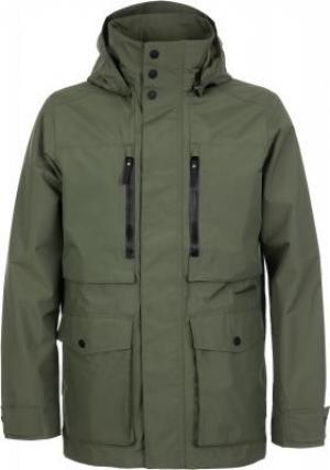 Куртка мембранная мужская Bridgeport, размер 44 JACK WOLFSKIN. Цвет: зеленый