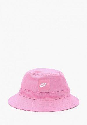 Панама Nike Y NK BUCKET CORE. Цвет: розовый