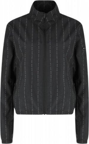 Ветровка женская Dri-FIT Icon Clash, размер 50-52 Nike. Цвет: черный