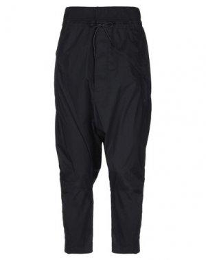 Повседневные брюки BLACK LABEL. Цвет: черный