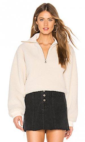 Пуловер jamey Lovers + Friends. Цвет: кремовый
