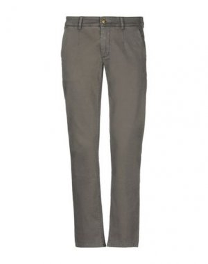Повседневные брюки JULIAN KEEN. Цвет: свинцово-серый