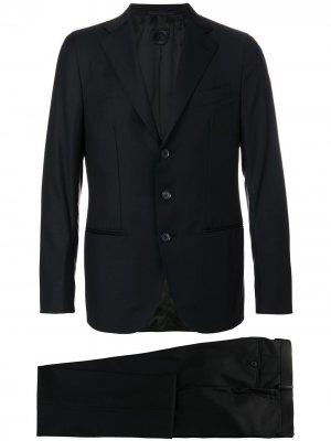 Классический костюм-двойка Caruso. Цвет: черный