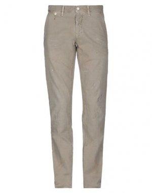 Повседневные брюки HTC. Цвет: песочный