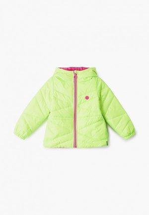 Куртка утепленная Boom. Цвет: зеленый