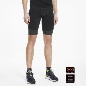 Леггинсы by X-BIONIC Twyce Short Mens Running Tights PUMA. Цвет: черный