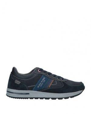 Низкие кеды и кроссовки ARMATA DI MARE. Цвет: темно-синий
