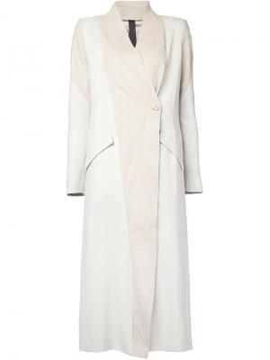 Пальто Ilaria Nistri. Цвет: серый