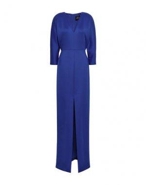 Длинное платье BLACK HALO EVE by LAUREL BERMAN. Цвет: ярко-синий