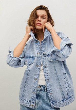 Куртка джинсовая Mango - SEUL. Цвет: голубой