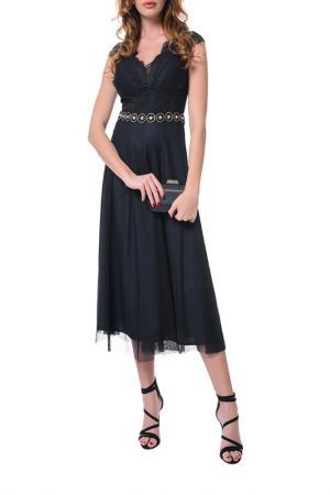 Платье Arefeva. Цвет: черный, синий