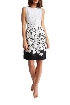 Платье Apart. Цвет: серебристый, серый, мультицвет
