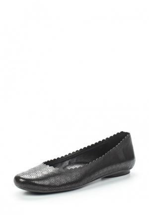 Балетки Vaneli Sorrel-black. Цвет: черный