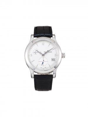 Наручные часы Master pre-owned 40 мм 2004-го года Jaeger-LeCoultre. Цвет: белый