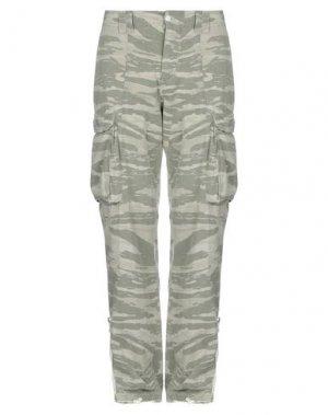 Повседневные брюки BAD SPIRIT. Цвет: зеленый-милитари