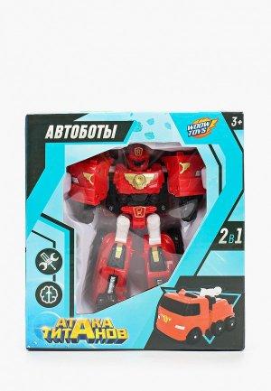 Робот Woow Toys Пожарный. Цвет: красный