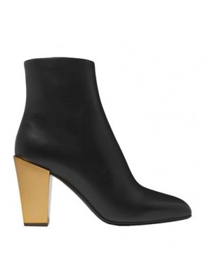 Полусапоги и высокие ботинки SALVATORE FERRAGAMO. Цвет: черный