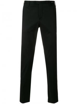 Брюки-чинос узкого кроя Pt01. Цвет: чёрный