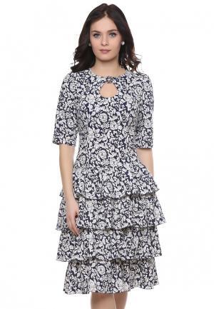Платье Grey Cat MAURY. Цвет: белый