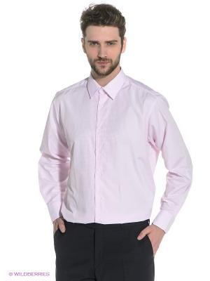 Рубашка Davani. Цвет: бледно-розовый