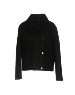Пальто HOGAN. Цвет: черный