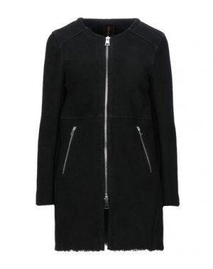 Пальто DELAN. Цвет: черный