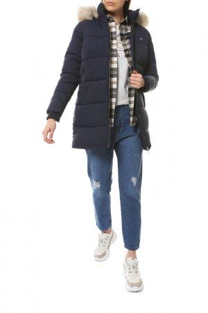 Пальто Tommy Jeans. Цвет: cbk, black iris