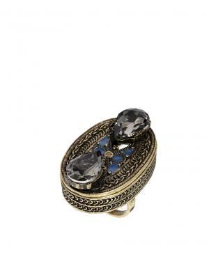 Магический перстень с камнями ASOS. Цвет: мульти