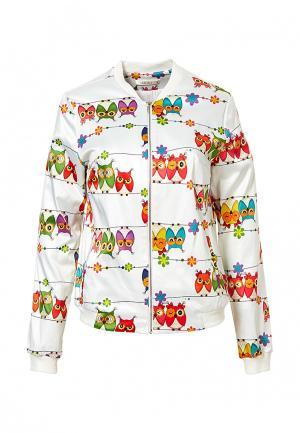 Куртка Grafinia. Цвет: белый