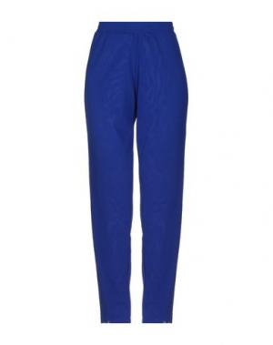 Повседневные брюки FUZZI. Цвет: ярко-синий
