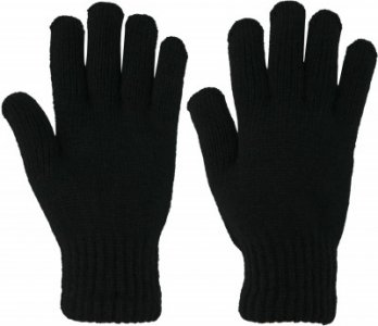 Перчатки , размер 8 Demix. Цвет: черный