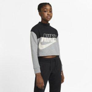 Укороченный свитшот из ткани френч терри для девочек школьного возраста Sportswear Nike