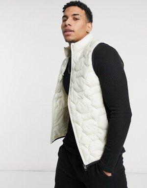 Серый жилет с черными вставками Core-Многоцветный Jack & Jones