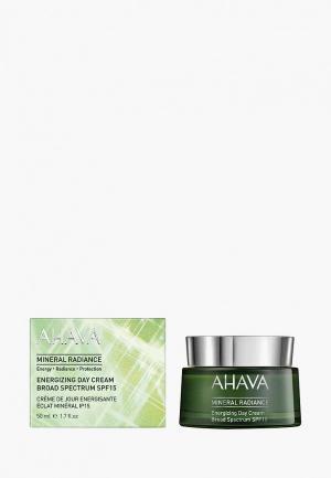 Крем для лица Ahava Дневной. Mineral Radiance. Минеральный, придающий сияние и энергию, spf15, 50 мл. Цвет: прозрачный