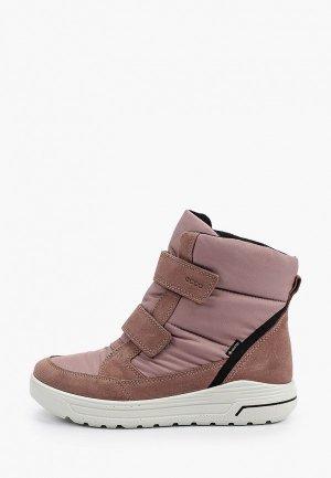 Ботинки Ecco URBAN SNOWBOARDER. Цвет: коричневый