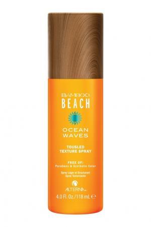 Спрей для создания текстуры волос Bamboo Beach Summer Ocean Waves Tousled Texture Spray, 118 ml Alterna. Цвет: без цвета